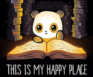book and panda image
