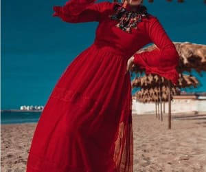 dress, hijab, and hijabi blogger image
