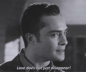 chuck bass, disappear, and gossip girl image