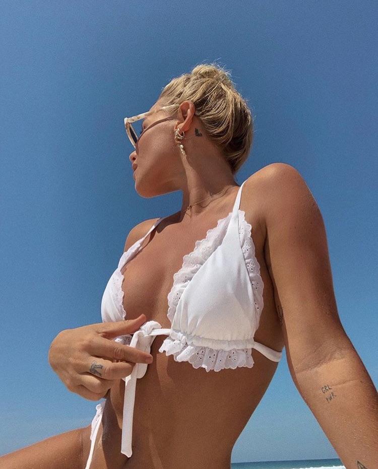 bikini, white top, and sephieux image