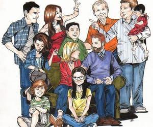 comedy, modern family, and sitcom image