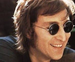 john lennon, the beatles, and glasses image