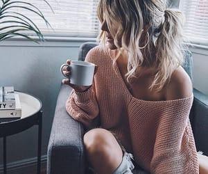 fashion, coffee, and styleblogger image