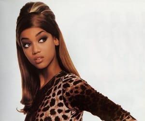 tyra banks, model, and 90s image