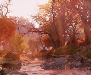 autumn, fallout, and countryside image