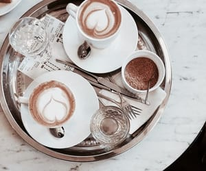 breakfast, coffe, and delicious image