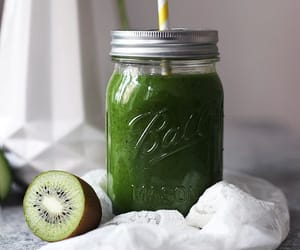 green smoothie, greens, and healthy image