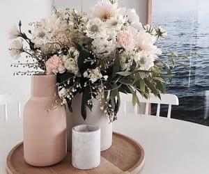 flowers, bouquet, and home image