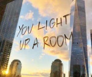 aesthetics, words, and light image