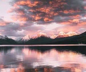 sky, nature, and mountains image