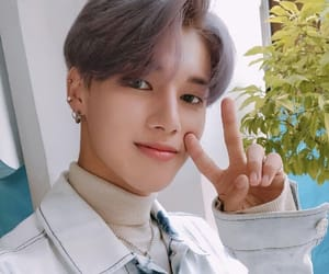 wooyoung and ateez image