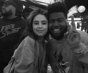 Claire, clairo, and khalid image