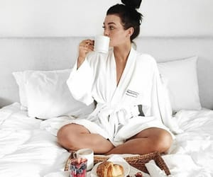 aesthetic, breakfast, and girly image