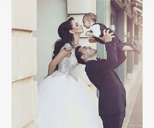 wedding, family, and couple image