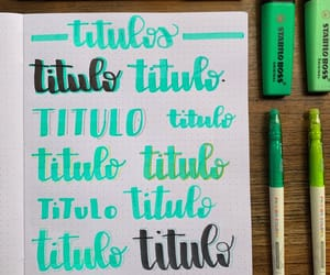 aesthetic, lettering, and study image
