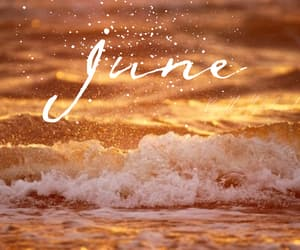 beach, june, and cuote image