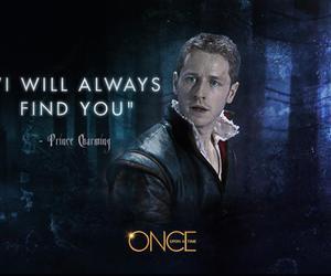 once upon a time and prince charming image