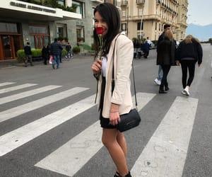brunette, italiangirl, and europe image