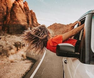 travel, car, and photography image