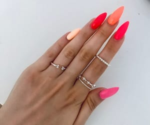 colours, nail, and nails image