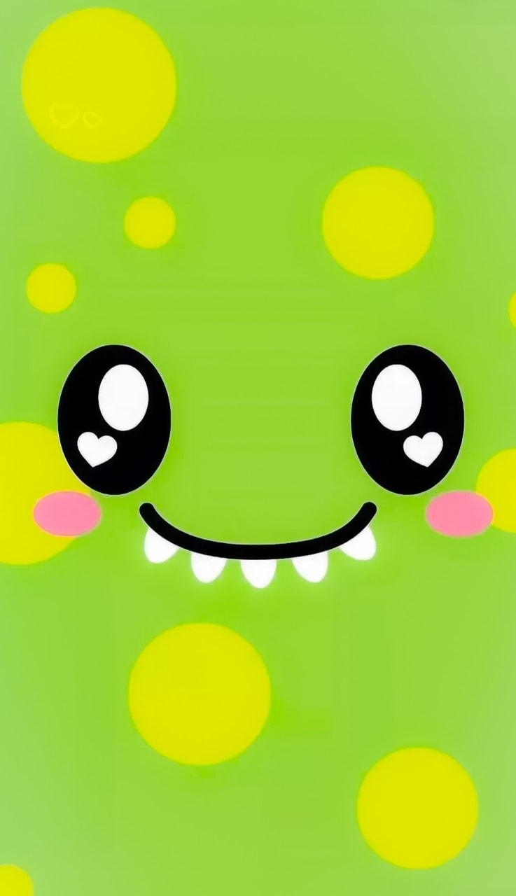 cute, monster, and wallpaper image