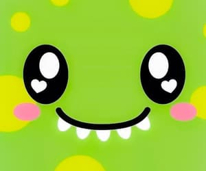cute, monster, and green image