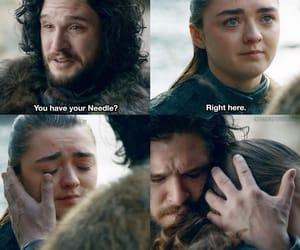 hbo, Jon, and stark image