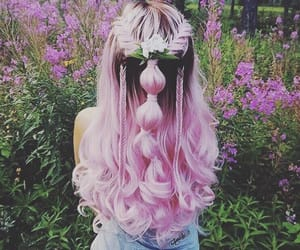 colors, hair, and fashion image