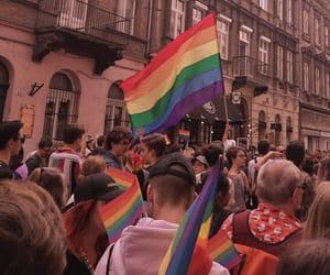 bisexual, gay pride, and pride image