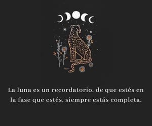 luna, frases, and love image