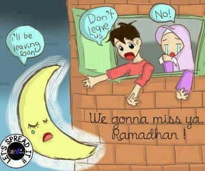 allah, prayers, and ramadhan image