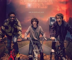 cast, stranger things, and finn wolfhard image