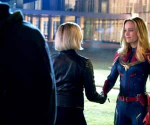 black widow, brie larson, and captain marvel image