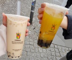 asian, bubble tea, and tea image