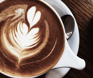 coffee, drink, and delicious image