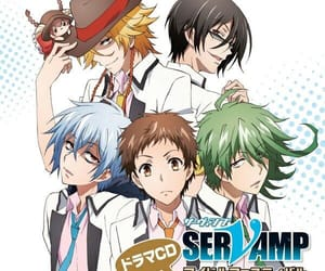 anime, servamp, and anime boys image
