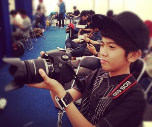 handsome, slr, and iqbaal image