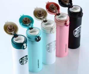 coffee mugs, starbucks, and starbucks tumbler image