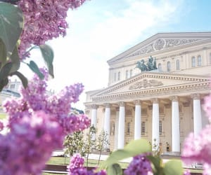 architecture, bolshoi theatre, and lilac image