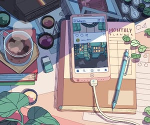 art, cozy, and illustration image