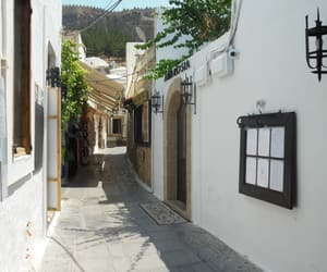 alley, europe, and Greece image