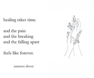 broken, growth, and healing image