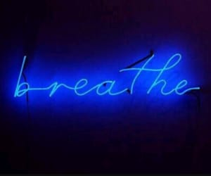 blue, breathe, and neon image
