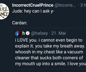 Jude, cardan, and the cruel prince image