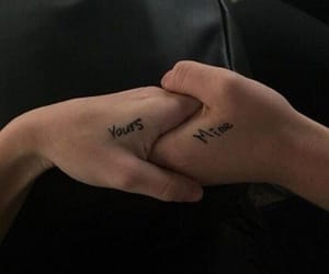 aesthetic, couples, and hands image