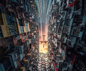 amazing, city, and fly image
