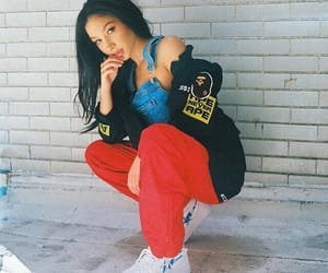 aesthetic, stylish girl, and babes image