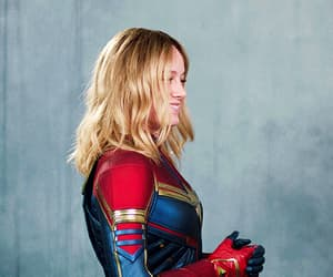 brie larson, gif, and Marvel image