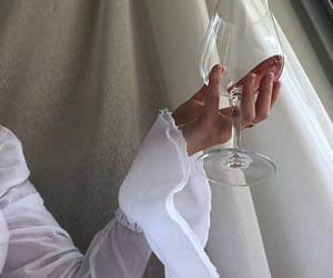 white, drink, and wine image