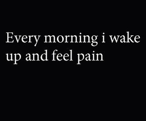 morning and pain image